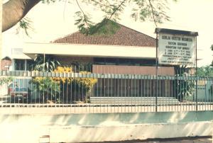 Gedung Gereja Rayon 2 di Jalan Beringin ( sekarang GKI Beringin )