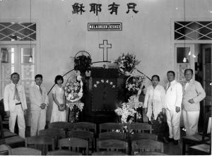 Liem Siok Hie Mempersembahkan Rumahnya sebagai Tempat Kebaktian