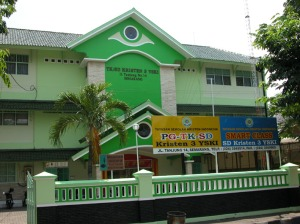 PG/TK/SD Kristen 3 YSKI Semarang