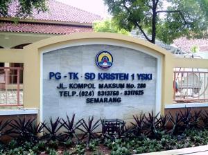 PG/TK/SD Kristen 1 YSKI Semarang